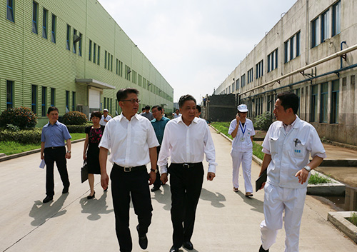 The delegate of Secretary Zhou Bin in New North District in Changzhou City, visited Guangyang Shares for observation and guidance